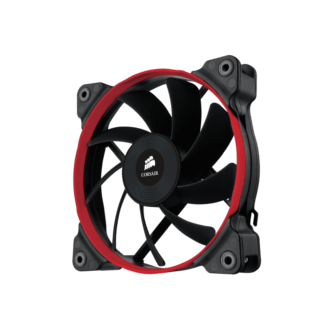 1 x Corsair 120 Performance Edition Fan (Colored rings Blue, Red, or White)