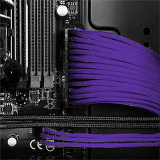 Advanced Pro Wiring - Individually Sleeved Cables (Twilight Purple)