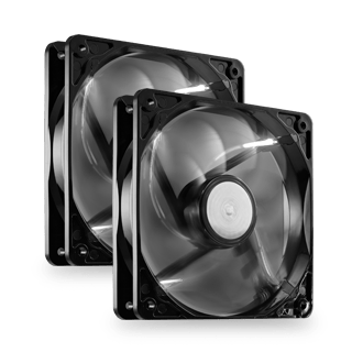2 x 120mm High Performance Fans