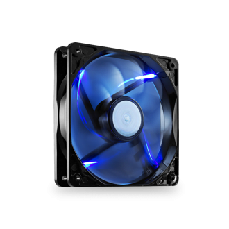1 x 120mm Blue LED High Performance Fan